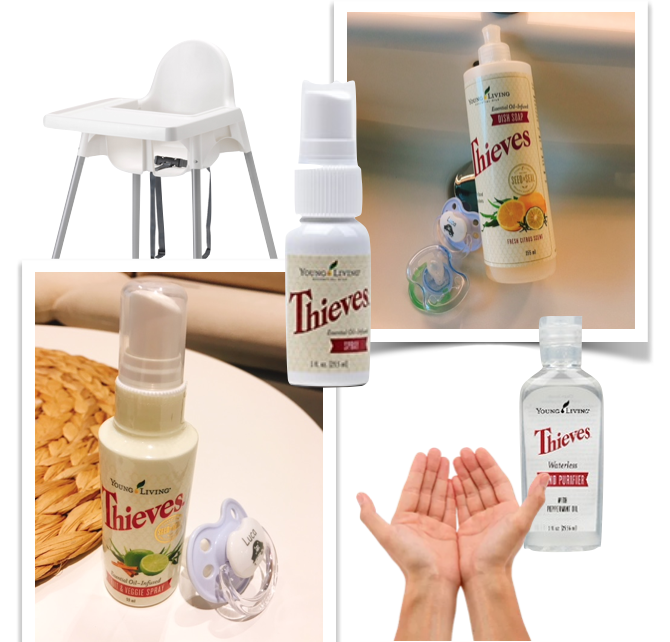Cleaning baby items